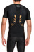 Skins M's A400 Top Short Sleeve Black/Gold